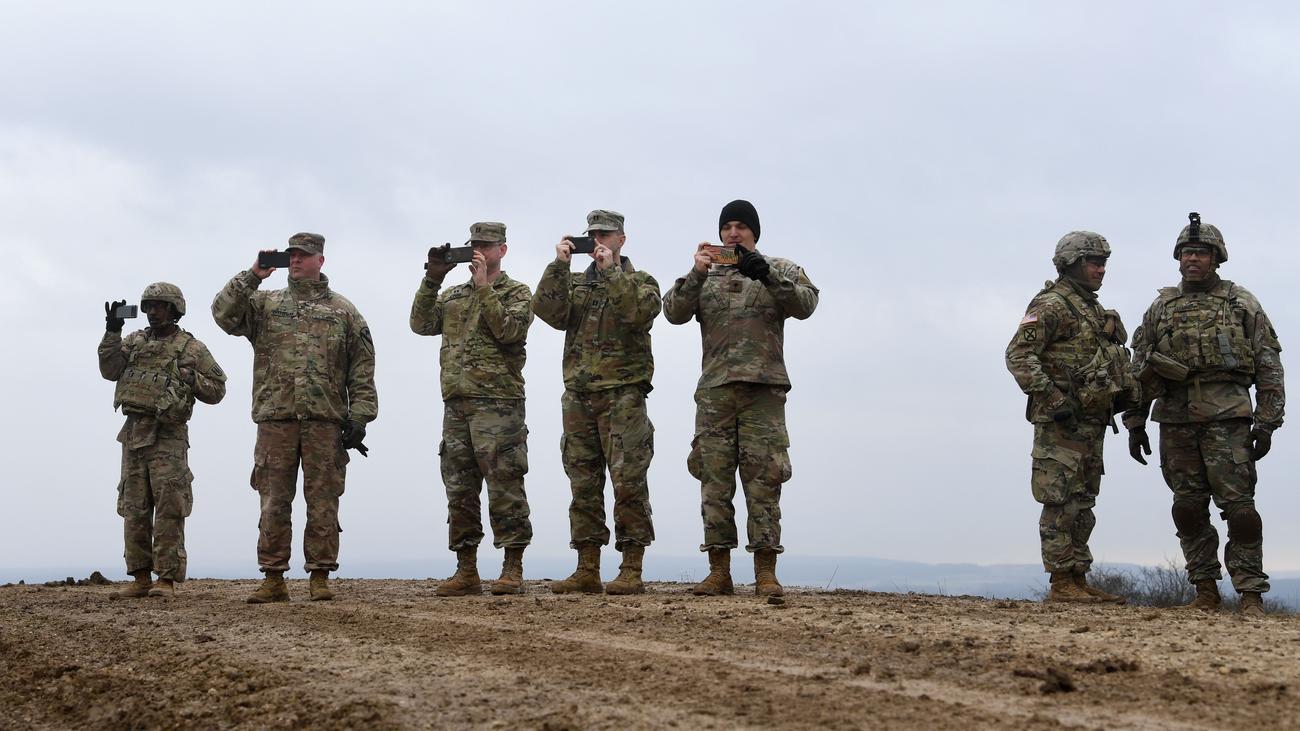 US-Militär: US-Regierung will offenbar Truppen aus Deutschland abziehen