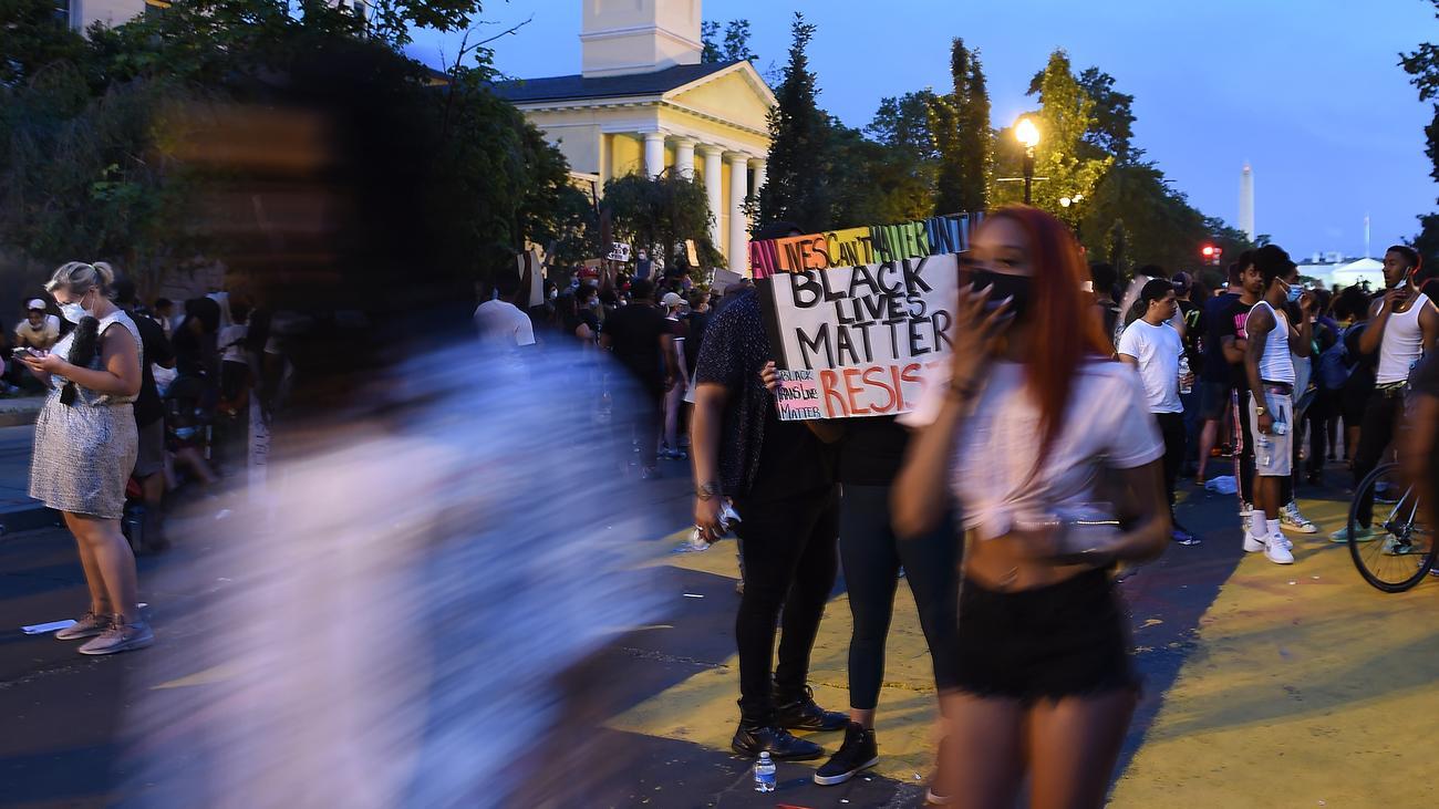 Washington: Neue Massenproteste vor dem Weißen Haus
