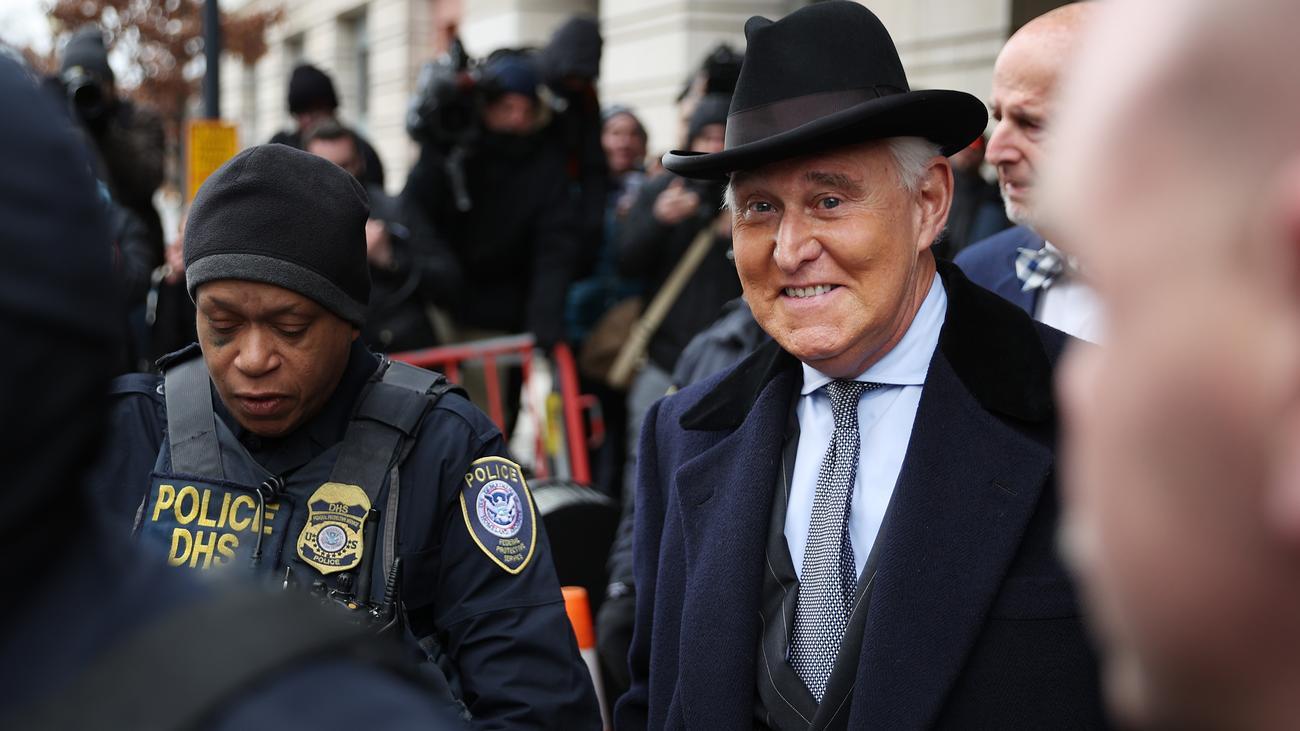Donald Trump verhindert Gefängnisstrafe für Roger Stone