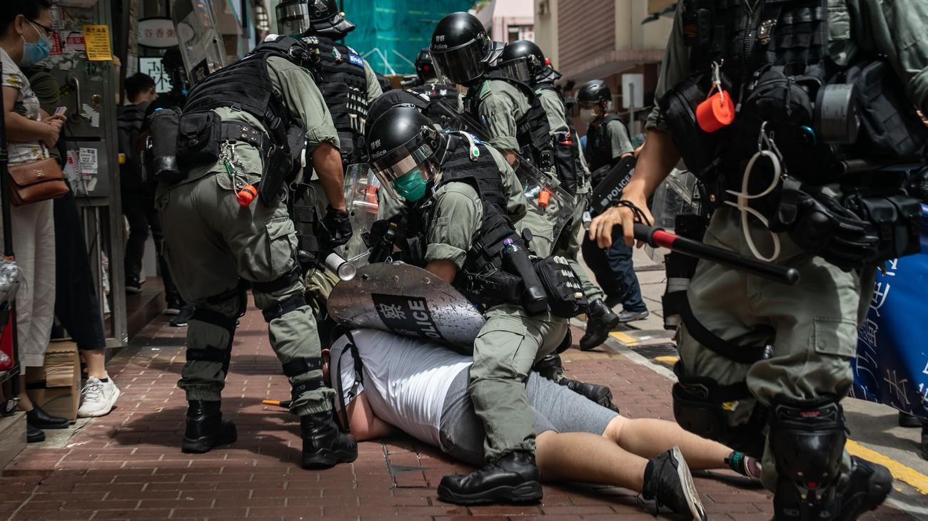 China droht Großbritannien wegen Hongkong mit Gegenmaßnahmen