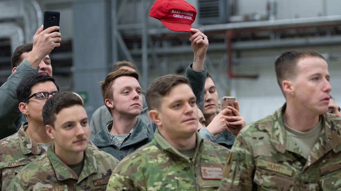 Us Soldaten In Deutschland Gelandet