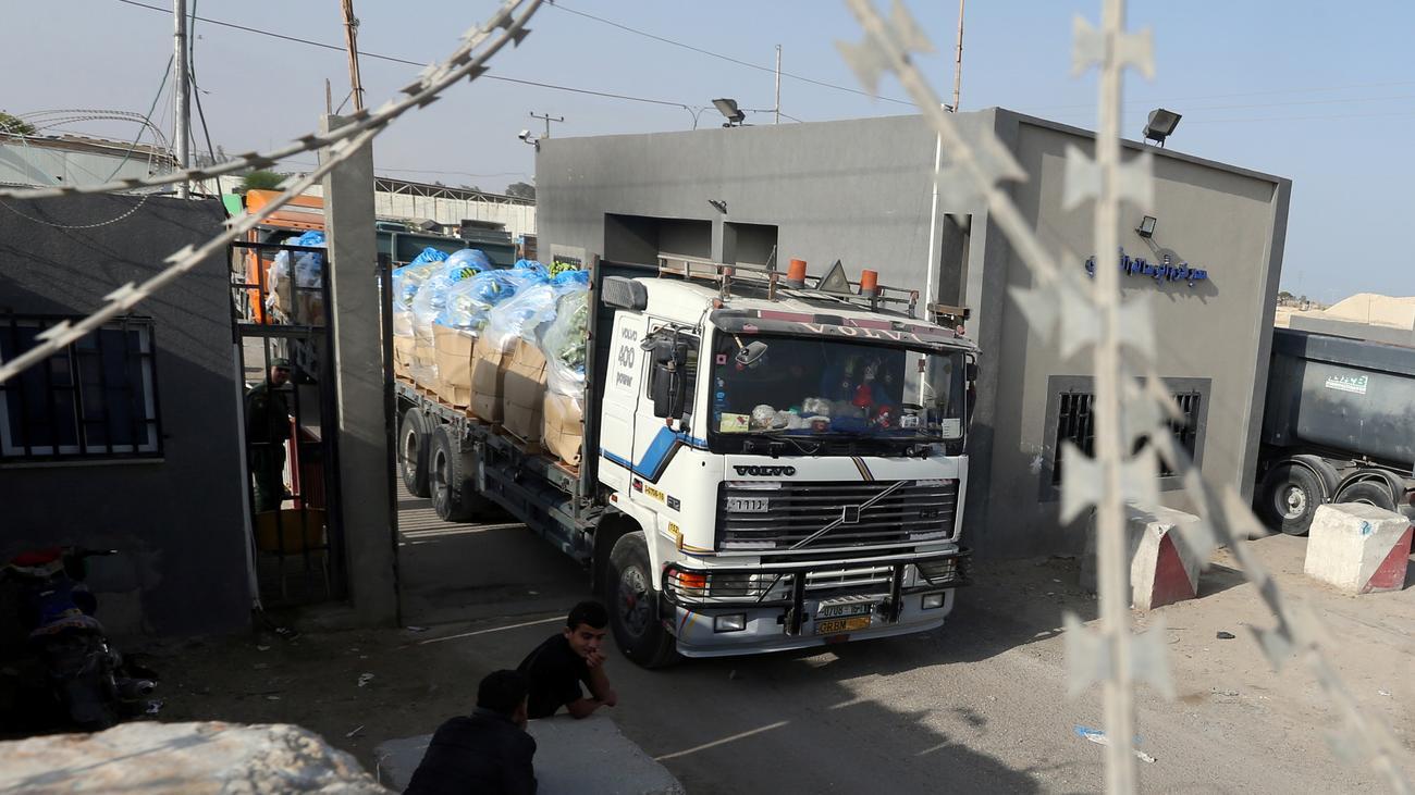Israel schließt Grenzposten für Warenlieferungen