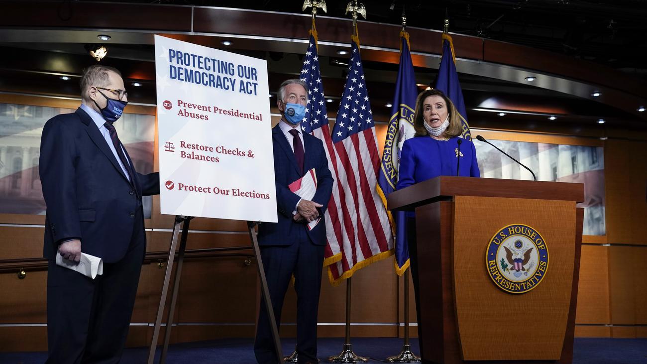 US-Demokraten bringen Gesetz gegen präsidialen Machtmissbrauch ein
