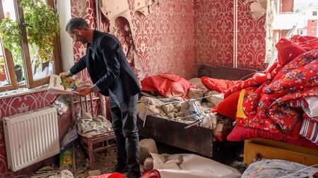 Bergkarabach Konflikt Armenien Und Aserbaidschan Wollen Wohngebiete Nicht Mehr Angreifen Zeit Online
