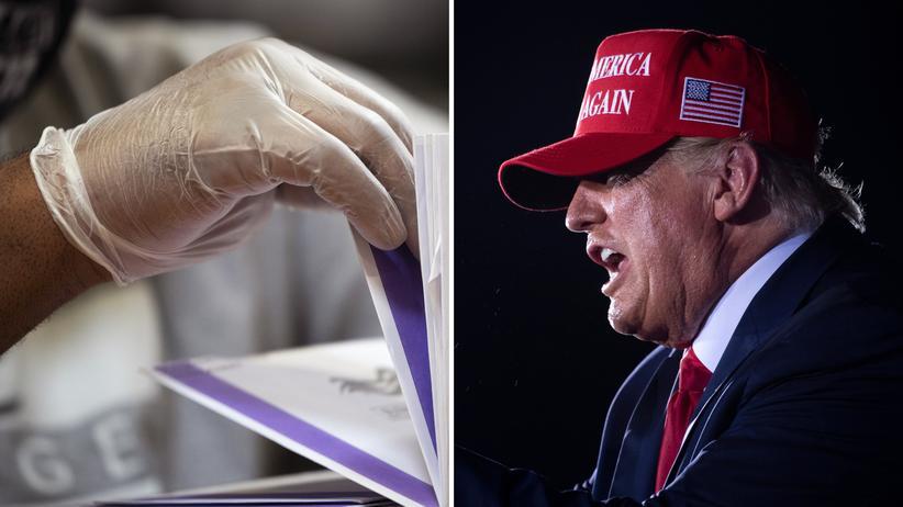 Donald Trump Wahlergebnisse