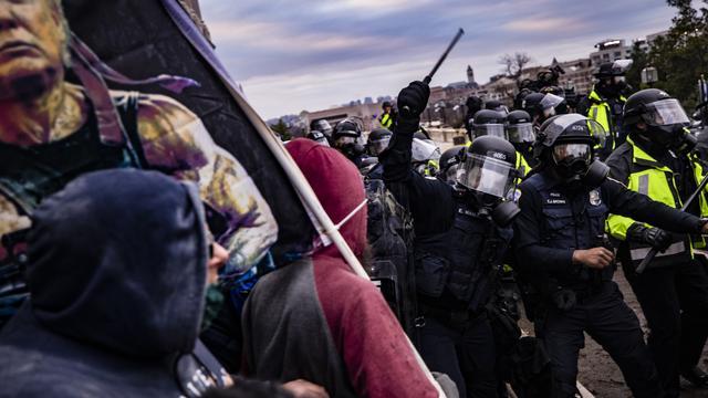 Bericht zum Sturm auf US-Kapitol: US-Kapitolspolizei sollte sich offenbar zurückhalten