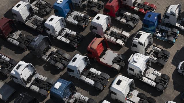 Lieferengpässe: Großbritannien bietet ausländischen Lkw-Fahrern Arbeitsvisa an