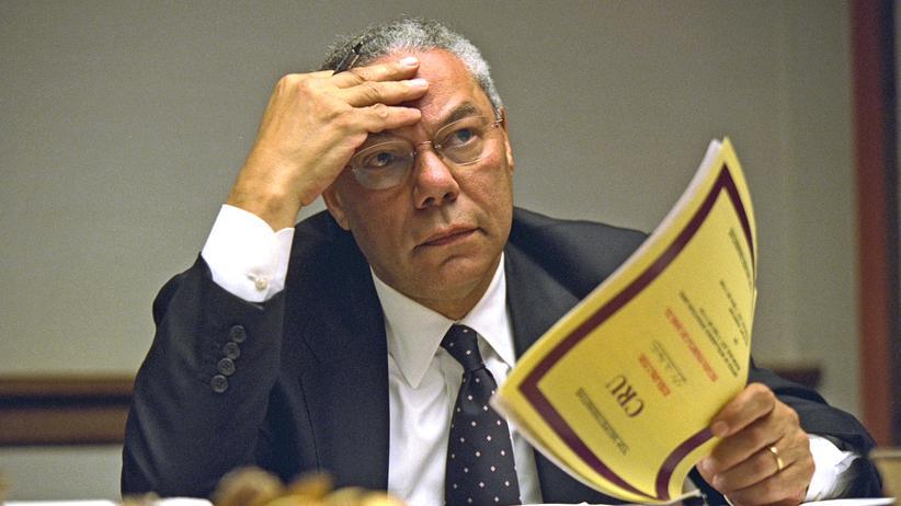 US-Republikaner Colin Powell: Ein Außenpolitiker, der auch Reue zeigte