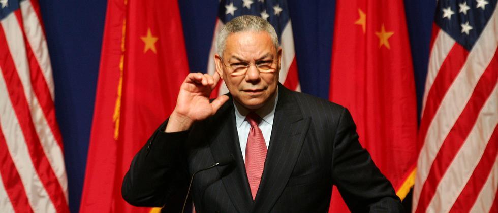 Colin Powell: Dieser eine Moment