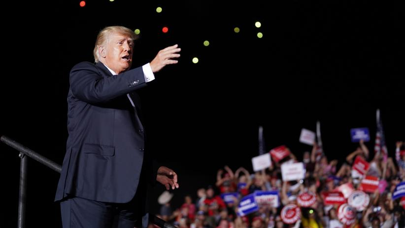 Sturm auf US-Kapitol: Donald Trump klagt gegen Herausgabe von Akten