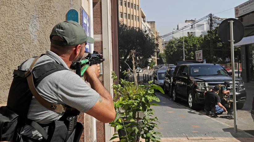 Libanon: Sechs Tote bei Ausschreitungen in Beirut
