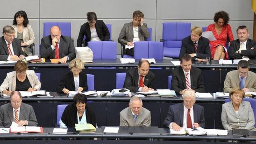 Kabinett der großen Koalition