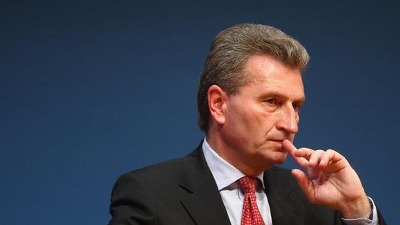 Günther Oettinger: Zwingendes Angebot für Oettinger