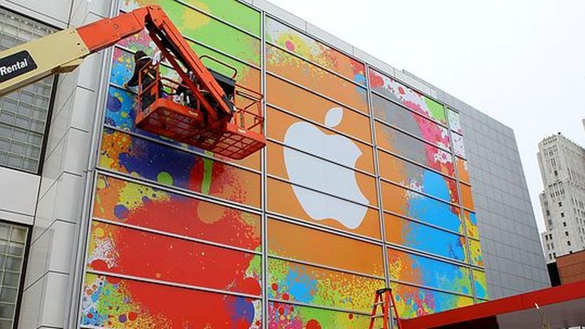 Apple-Werbung in San Francisco