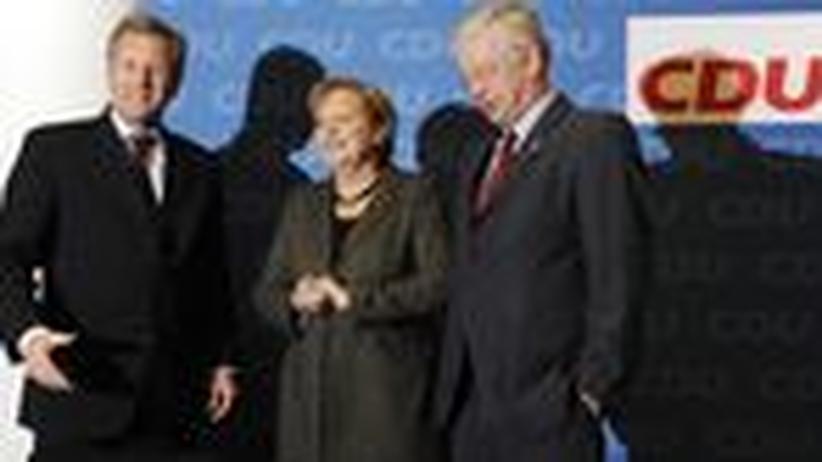 CDU-Vorstandsklausur: Die CDU will mittig bleiben