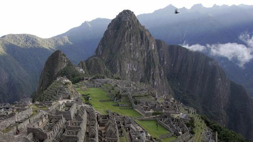 Machu Picchu: Militär rettet abgeschnittene Touristen in Machu Picchu