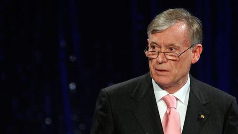 Bundespräsident: Köhler enttäuscht von Schwarz-Gelb