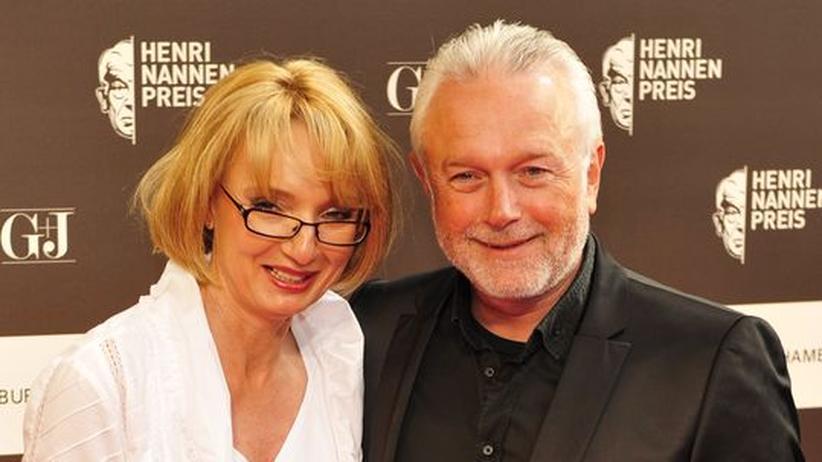 Wolfgang Kubicki mit seiner Ehefrau Annette Marberth-Kubicki beim Henri-Nannen-Preis 2009 in Hamburg