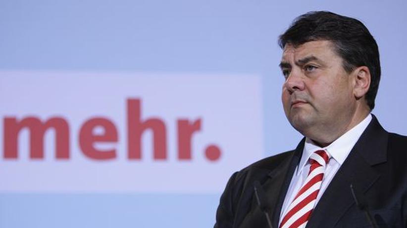 Neuer König der SPD: Sigmar Gabriel. Kommt mit ihm der Neuanfang?
