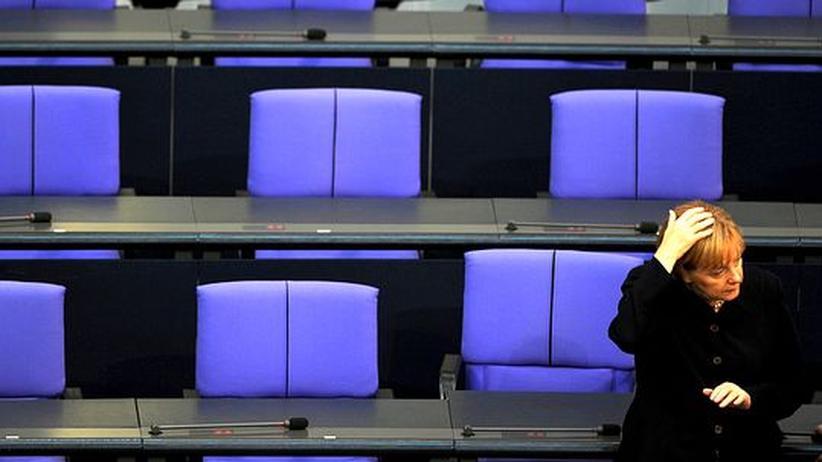 Koalition: Merkels Arbeitsstil frustriert die Unionisten