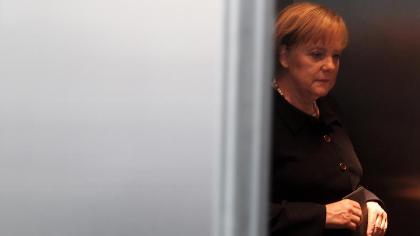 Angela Merkel: Ein Hauch von Resignation