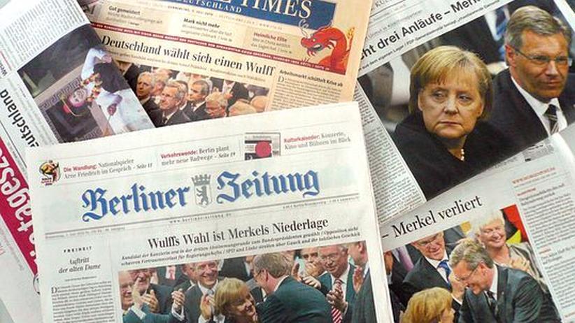 """""""Merkel hat fertig"""": Wie die deutschen Zeitungen titeln"""