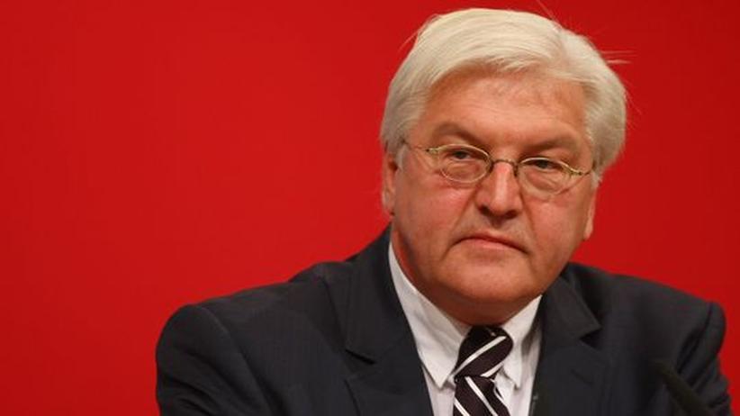 SPD: Steinmeier zieht sich vorübergehend aus der Politik zurück