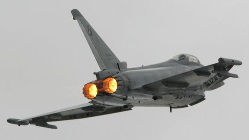 Der Eurofighter: eines der Rüstungsprojekte, die deutlich teurer wurden