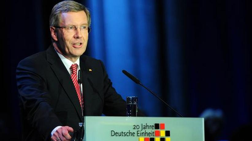 Bundespräsident Christian Wulff in Bremen