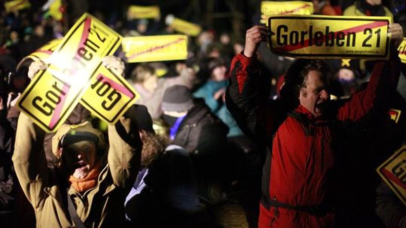 Castor-Transport: Union will Demonstranten an Polizeikosten beteiligen