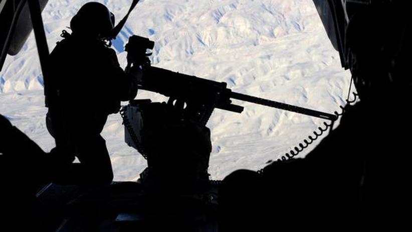 Bundeswehr Afghanistan Soldaten Maschinengewehr