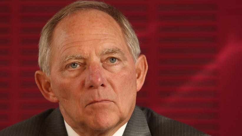 """Wolfgang Schäuble: """"Ich bin faul und bequem"""""""