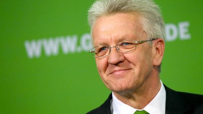 Baden-Württemberg: Winfried Kretschmann, voraussichtlich Baden-Württembergs nächster Ministerpräsident