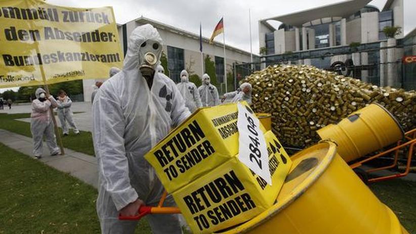 Energiepolitik: Zehntausende demonstrieren für raschen Atomausstieg