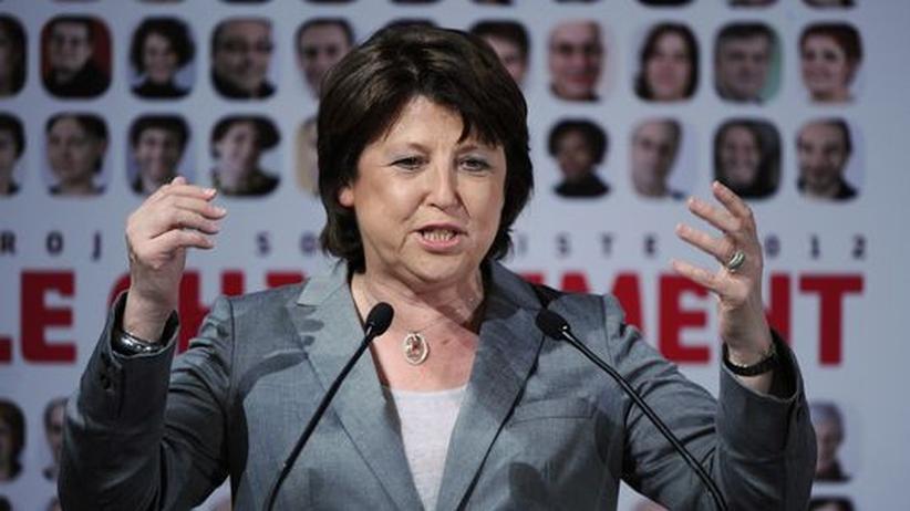 Frankreich: Martine Aubry ist Parteivorsitzende der Parti Socialiste (PS) in Frankreich.