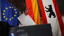 Stimmenabgabe während der Bundestagswahl (Archivbild)