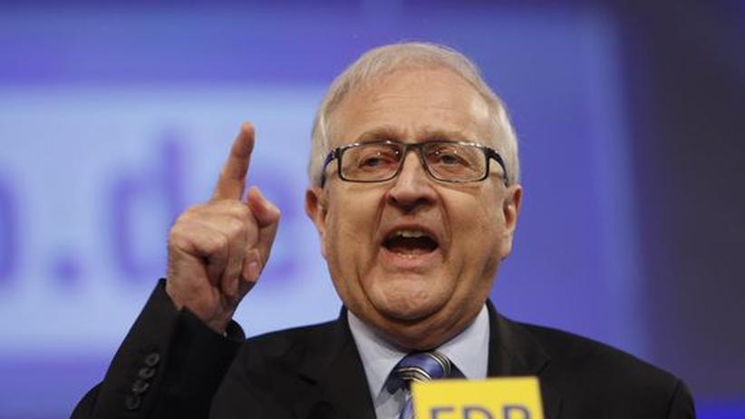 Euro-Krise: Brüderle knüpft Rettungsschirm an Bedingungen