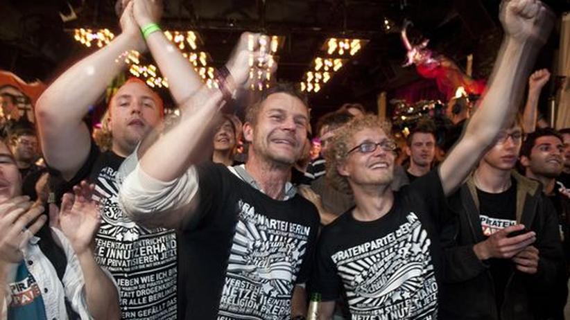 Wahl in Berlin: Der Piraten-Gründer weint vor Glück