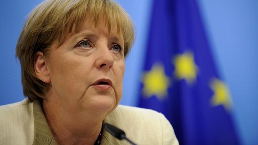 Euro-Schuldenkrise: Bundeskanzlerin und CDU-Parteivorsitzende Angela Merkel