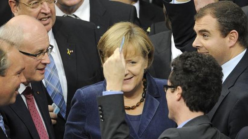 Rettungsfonds: Bundestag stimmt für EFSF-Erweiterung
