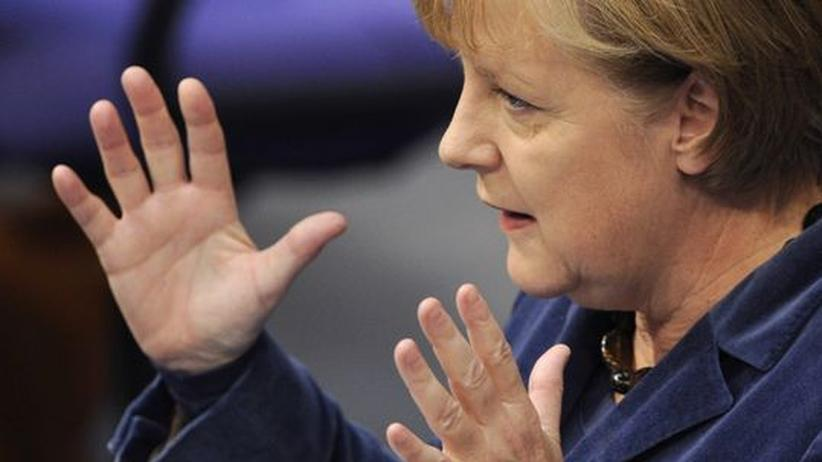 """Merkel im Bundestag: """"Die größte Belastungsprobe, die es je gab"""""""