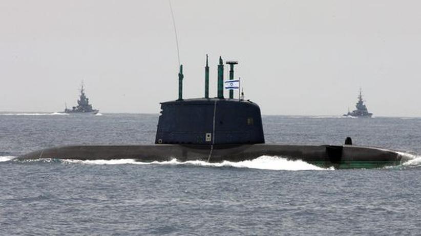 Rüstungsexport: Deutschland liefert U-Boot an Israel