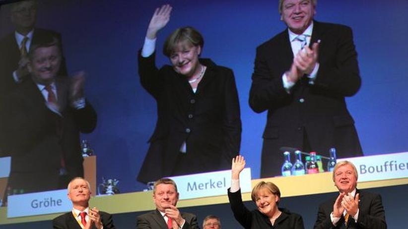 CDU: CDU-Parteitag in Leipzig