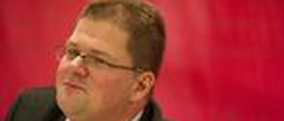 Der NPD-Vorsitzende Holger Apfel