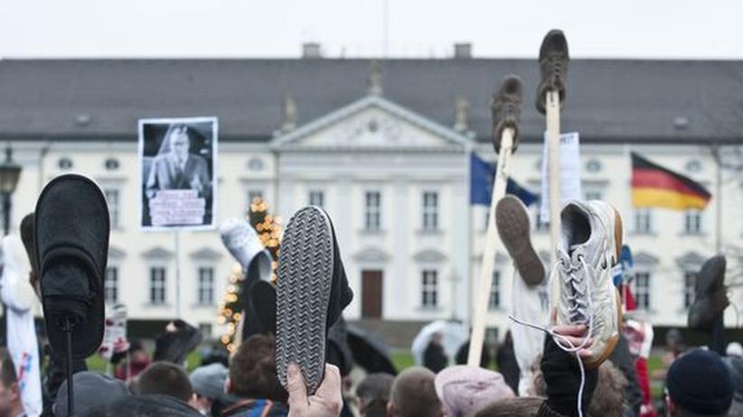 Bundespräsident: CSU wirft SPD Gewissenlosigkeit in Wulff-Affäre vor
