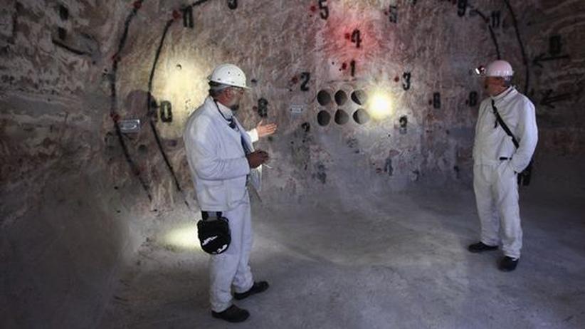 Erkundungsbergwerk in Gorleben