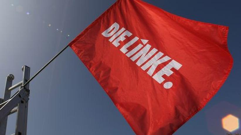 Fahne der Linkspartei