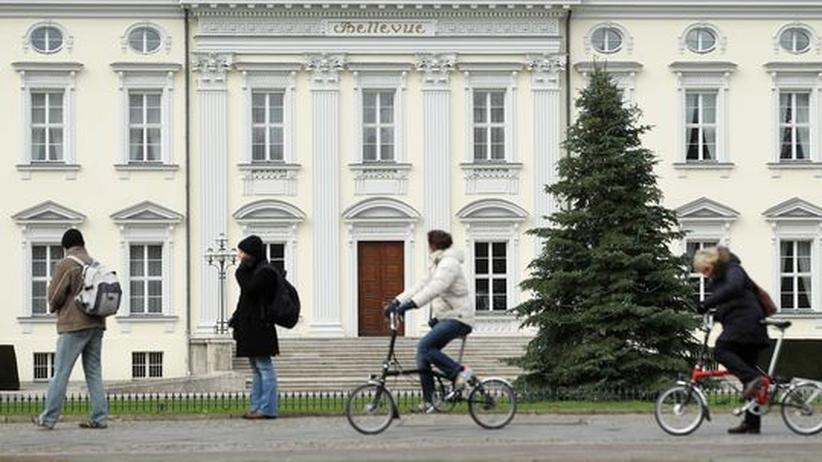 Bundespräsident: Leeres Schloss