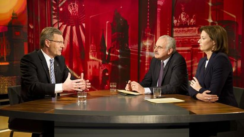 TV-Interview: Wulffs schaurige Menscheleien