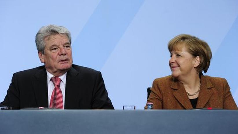 Gauck und Merkel: Das Duell